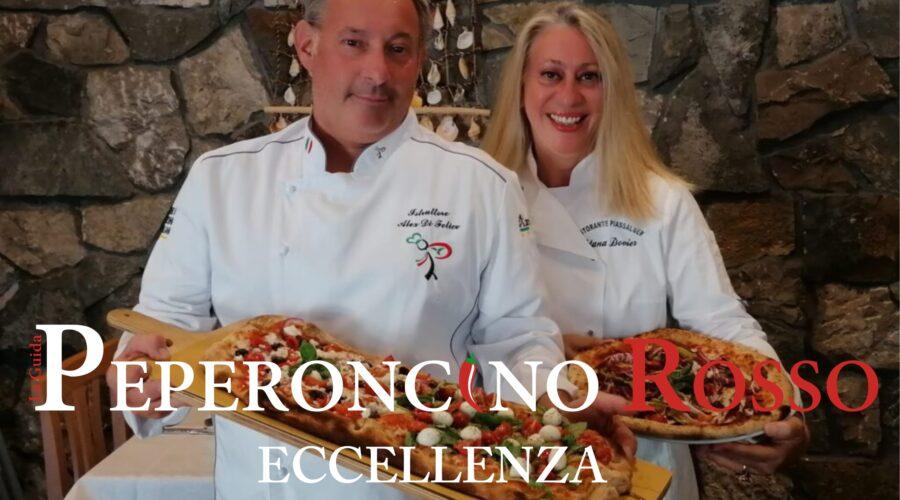 In copertina, il Maestro Pizzaiolo Alex Di Felice e la sua adorata moglie